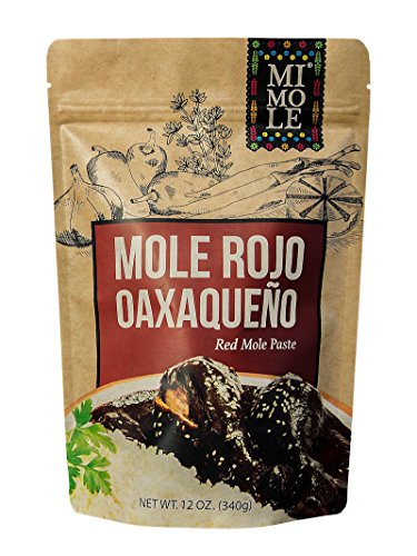 Mi Mole Rojo Oaxaqueno, Red Mole Paste, 12 Oz