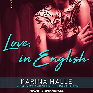 Love, in English cover art