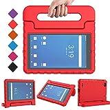 BMOUO Kids Case for Walmart Onn 7 inch Tablet, Onn 7 inch Tablet Case, Shock Proof Light Weight Protective Handle Stand Onn 7 inch Tablet Case for Kids Model 100005206 - Red