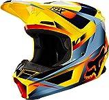 FOX V-1 Motif Helmet, Hombre, Yellow, S