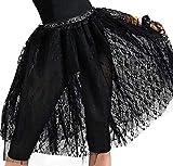 Amscan 843065 Black Lace Skirt, Adult Standard Size, 1 Piece