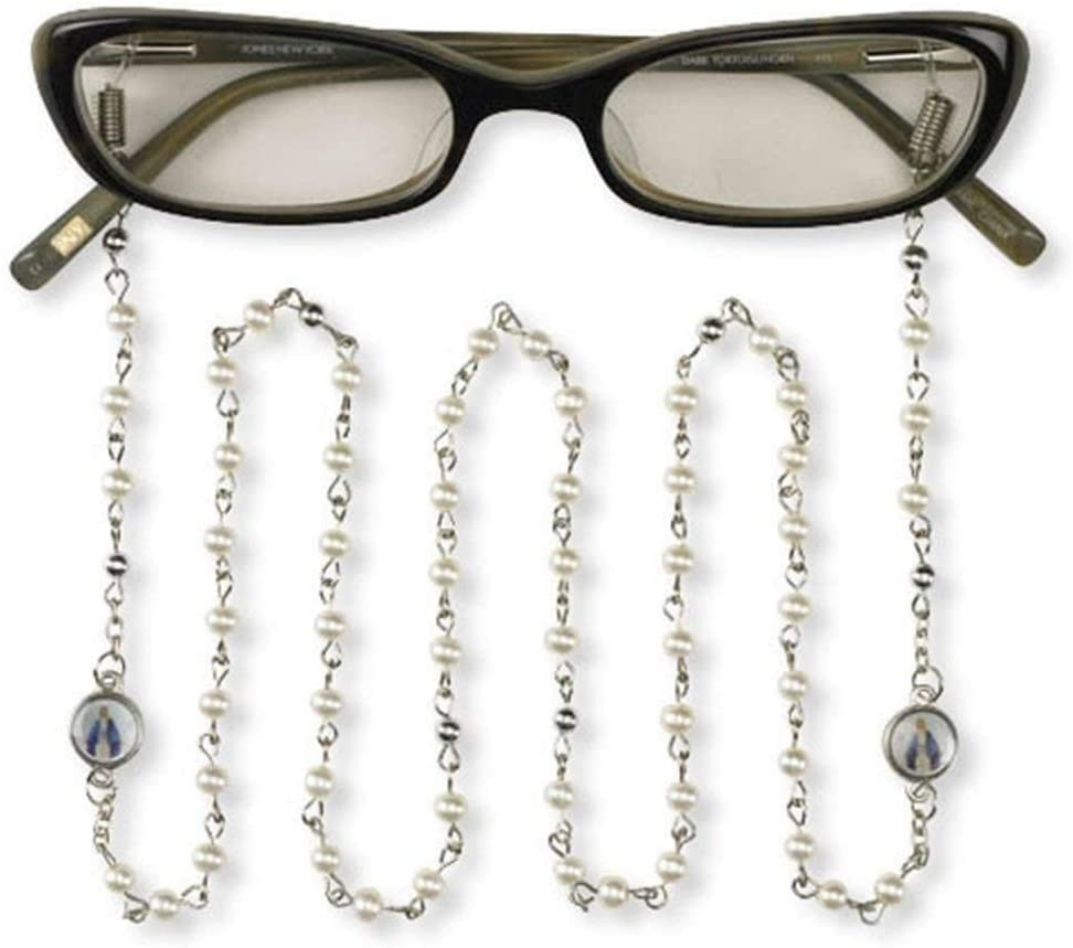 RIF Store Beaded Eyeglass Chain with Brand new Max 43% OFF of Lady Grace Our Miraculou