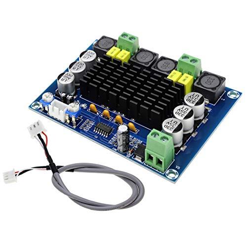 2 x 120W Dual Channel Digital Stereo Power Amplifier Board