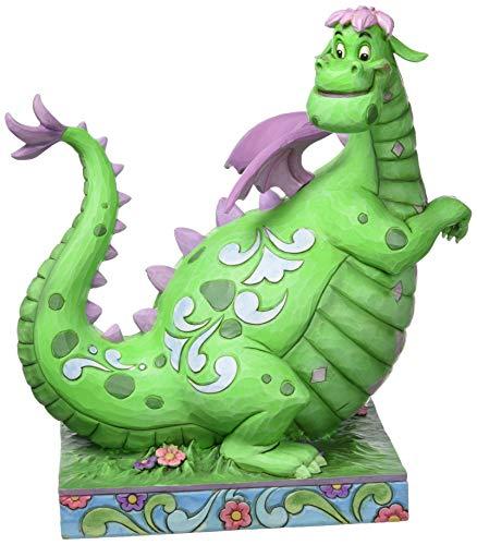 Disney Traditions by Jim Shore Petes Dragon 40th Anniversary Elliot Stone Resin Figurine, 9