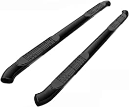 4in. Black Nerf Bar for 1999-2004 F150 Super/Extended Cab Curve End Running Boards