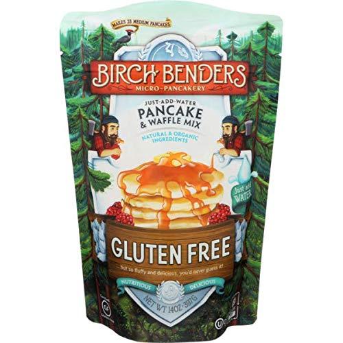 Birch Benders Organic Pancake Waffle Mix (Gluten Free 14 oz)