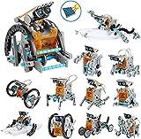 OFUN Juguete Robot Stem para niños, 12 in 1 Robots Kit de Ciencia Divertido Juego Creativo y DIY Juguetes, Manualidades Regalos para niños de 8 a 12 años