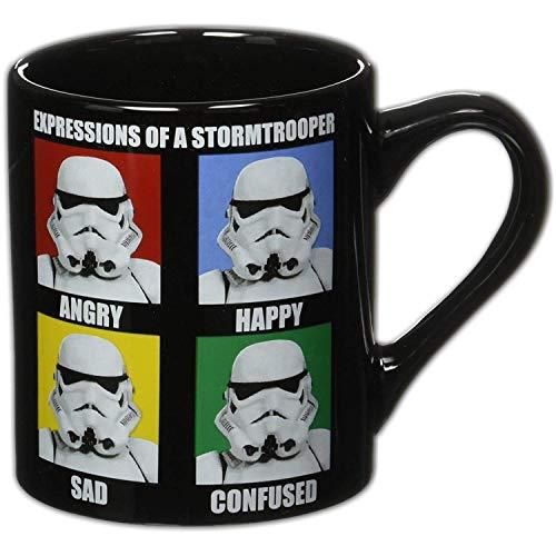 Toy Zany Star Wars Storm Trooper Expressions 14 oz Ceramic Mug