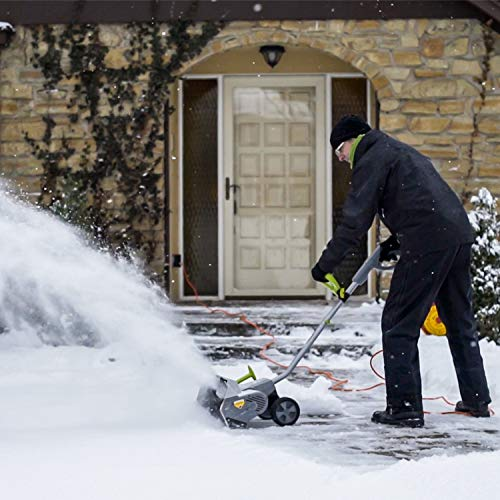 Snowy? Frosty? No problemo with an electric snow shovel 10
