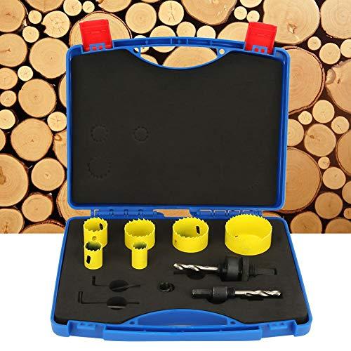 11 stuks bimetaal gatenzaag houtsnijgereedschap hout gatenzaag met kernboor met koffer
