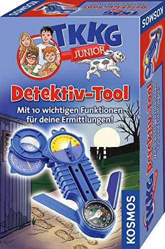 KOSMOS 654528 TKKG Junior - Detektiv-Tool, Detektivspielzeug, Detektiv Ausrüstung