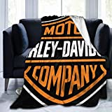 JMFASHION Harley Davidson Blankets,Home Decorative Warm Plush Cozy Soft Blankets,for Chair,Bed,Couch...