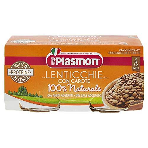Plasmon Omogeneizzato Lenticchie, 24 x 80 g