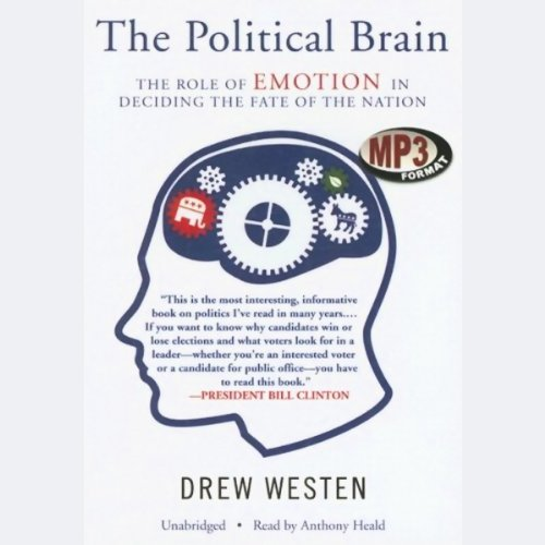 The Political Brain audiobook cover art
