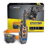 Dogtra 2700T&B Long Range 1-Mile 1-Dog Training & Beeper Remote Dog Training E-Collar for Upland Gun Dog