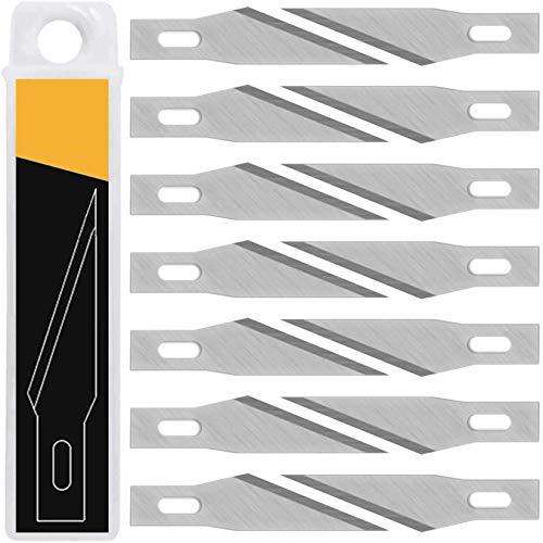 デザインナイフ 替刃 デザインカッター 替え刃 彫刻刀 セット 50点セット 細工用カッター デザインカッター カッターナイフ プラモデル 消しゴム はんこ 切り絵