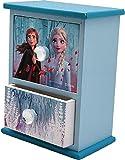 Frozen Joyero de Madera Dos cajones 2 Organizadores de Joyas para Armario Almacenaje de Adornos Festivos Artículos para el hogar Unisex Adulto, Multicolor (Multicolor), única