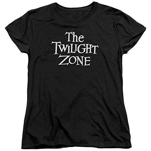 Twilight Zone Camiseta feminina com logotipo CBS da série TV