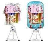 930048 Tendedero secador eléctrico con temporizador de aire caliente 145 x 60...