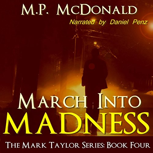 March into Madness audiobook cover art