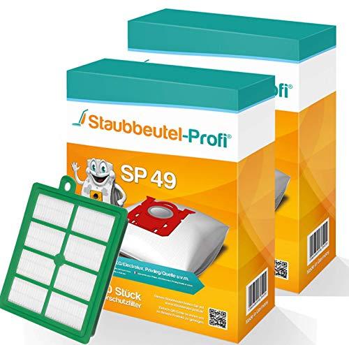 20 Staubsaugerbeutel-Set-SP49 kompatibel mit Swirl PH86, PH 86 geeignet für Philips FC 8577/09