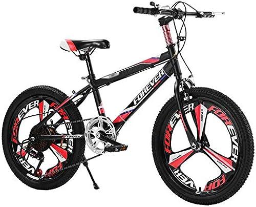 ETZXC Kinderfürr r Kinder Mountainbike Kinder fürrad mit Variabler Geschwindigkeit Geeignet für Jungen und mädchen fürrad Kinder Travel Bike-20 Zoll