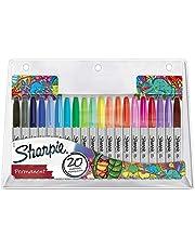 Sharpie Permanente Marker, Meerkleurig, 20 Stuks