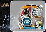 """Joy Toy 756790 Geschirrset """"Star Wars"""" 3 teilig aus Melamin"""