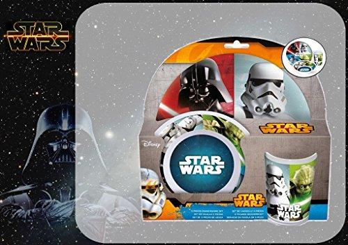 Le petit-déjeuner Star Wars en Septembre Mélamine