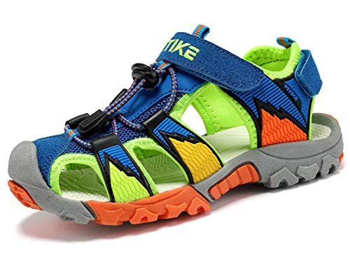 FANGFIUP Kids Sandals Boys Outdoor Hiking Sports Sandal Girls Pool Beach  Shoes Summer Water Shoe Sneakers for Little Kid Closed-Toe Slip Resistant  Duralble Blue 1- Buy Online in Croatia at desertcart.hr. ProductId :