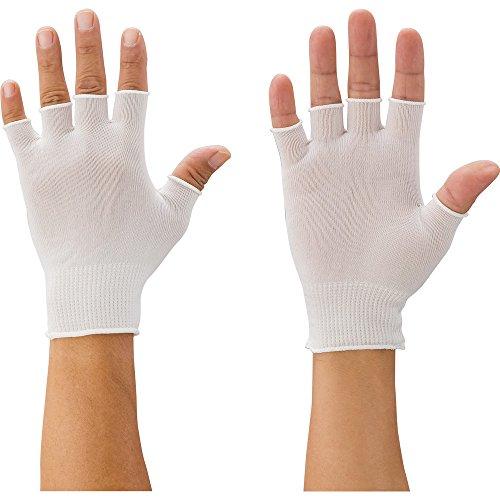 マックス 快適インナー半指手袋 Mサイズ (10双入) MX387M