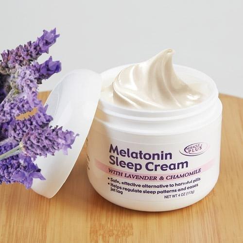 Product Image of the Melatonin Sleep Night Cream With Lavendar & Chamomile (4oz)