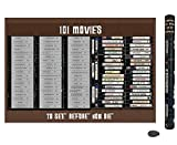 101 Movies Scratch Off Poster Bucket List   Gift for Movie Lover  ...