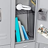 free standing locker shelf