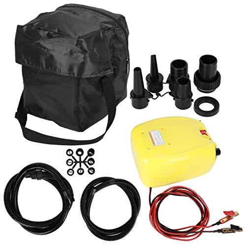 Pwshymi Bomba infladora eléctrica Duradera para Kayak y Bote para colchón Inflable...