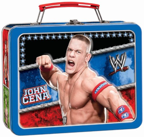 Amscan Boys WWE Metal Box Carry All Red/blue Medium