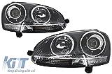 KITT HLVWG5GTIC Faros Delanteros Cromo Xenón GTI Diseño Headlights