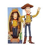 Hablar Woody Jessie Buzz Lightyear Figura De Acción De Dibujos Animados Modelo Coleccionable Muñeca De Juguete Para Niños Bolso de mano de Woody