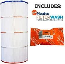 Pleatco Cartridge Filter PJ120-4 Jacuzzi Brothers Sherlock 120 42-3675-08-R w/ 1x Filter Wash