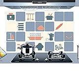 Wall impermeable de PVC desmontable Cocina Artículos for cocinar...