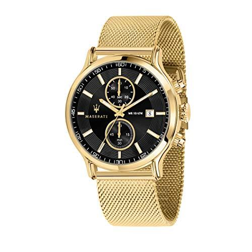 Reloj para Hombre, Colección Epoca, cronografo, en Acero y PVD Oro Amarillo - R8873618007