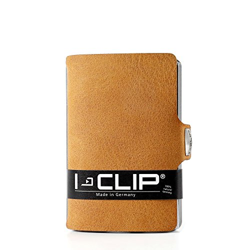 I-CLIP Men's Soft Touch Credit Card Holder IC-14508