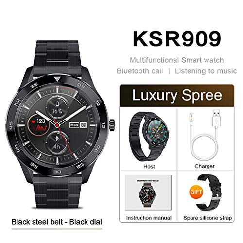 Sgfccyl Smart-armband waterdicht IP68 display 1.3 Full HD ECG test verwisselbare smartwatch 4G intelligent horloge