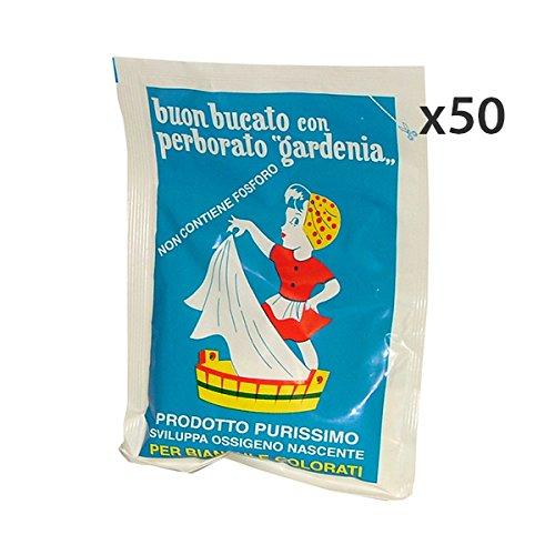 Gardenia Set 50 Sbiancante-Smacchiatore iatore 100 Gr. Detergenti casa
