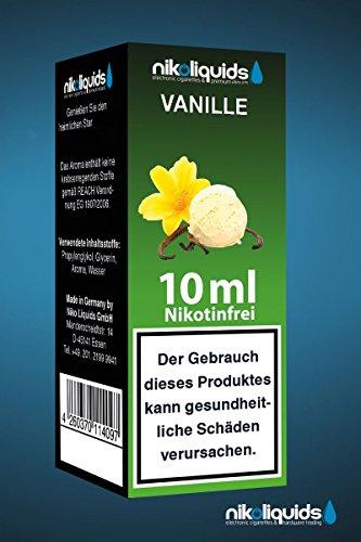 Nikoliquids Vanille 10ml 0mg