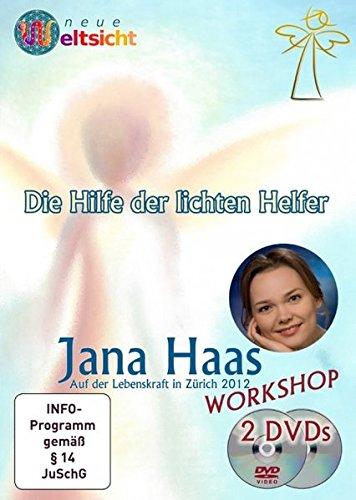Workshop: Die Hilfe der lichten Helfer - Jana Haas; 3 Stunden auf 2 DVDs!: Diese DVD wurde im März 2012 auf dem Kongress
