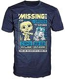 Star Wars POP! Tees T-Shirt Missing Droids Size L Funko shirts...