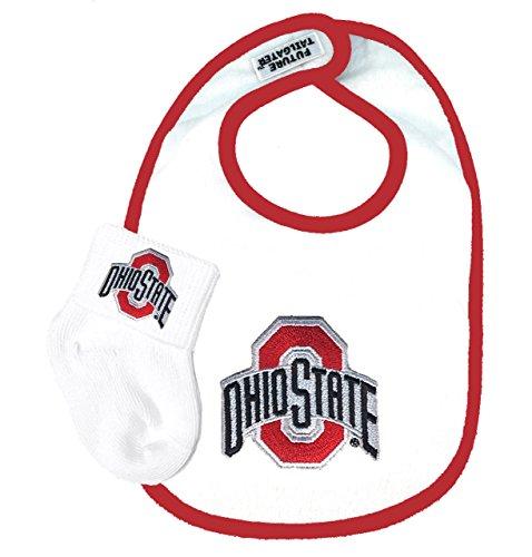 GPSGIFTGALLERY Ohio State Buckeyes Baby Socks Infant