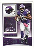 2015 Panini Contenders Season Ticket #71 Adrian Peterson Vikings NFL Football Card NM-MT