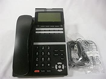NEC ITZ-12D-3 BK  TEL DT830 IP 12-Button Display Endpoint Black Phone Stock# 660002